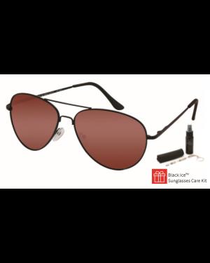 Black Ice Unisex Polarised Sunglasses