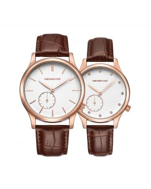 Cristian Cole Gents and Ladies Watch Set