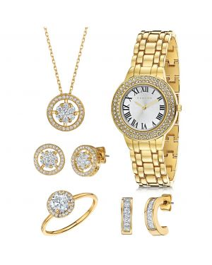 Fervor Montréal Elegante Watch and Jewelry Set