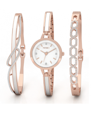 Fierro Allure Watch And Double Bangle Set